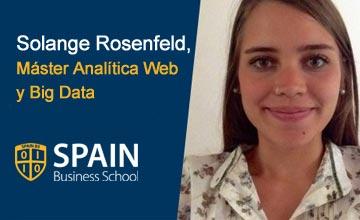 """""""Recomendaría Spain Business School por la flexibilidad y la relación con el alumno"""""""