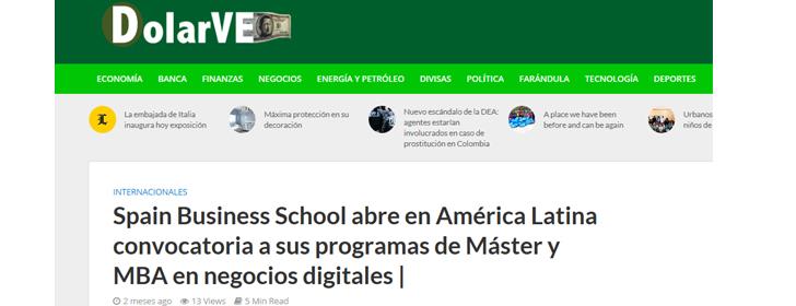 Estudiantes latinoamericanos se apalancan en el modelo social de la escuela de negocios para acceder a programas Máster de especialización