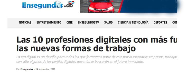 Nuevas formas de trabajo y profesiones digitales