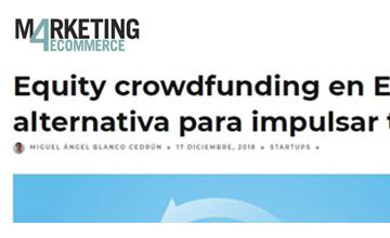 Equity crowdfunding en España: una vía alternativa para impulsar tu negocio