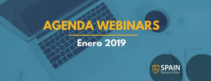 Agenda de webinars gratuitos enero 2019