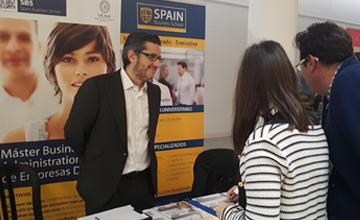 Spain Business School recorre el país con su formación digital en la feria Especialíza-T