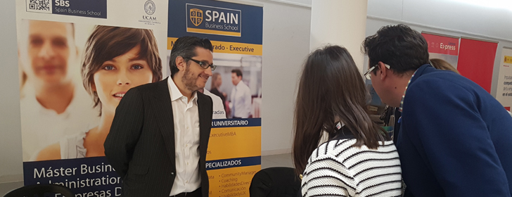 Spain Business School recorre el país con su formación digital en la feria Especialíza-T
