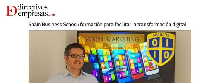 Spain Business School: formación para facilitar la transformación digital