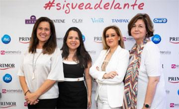 P&G, Arenal Douglas, Grupo Aromas, Marvimundo, Primor y Womenalia continúan con su apoyo al emprendimiento femenino