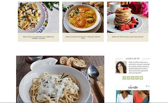 Escribir un blog de cocina