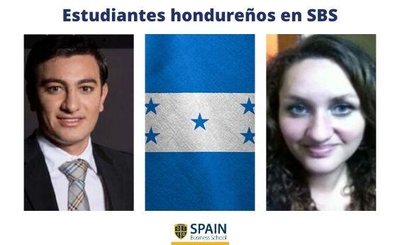 Estudiantes hondureños en Madrid