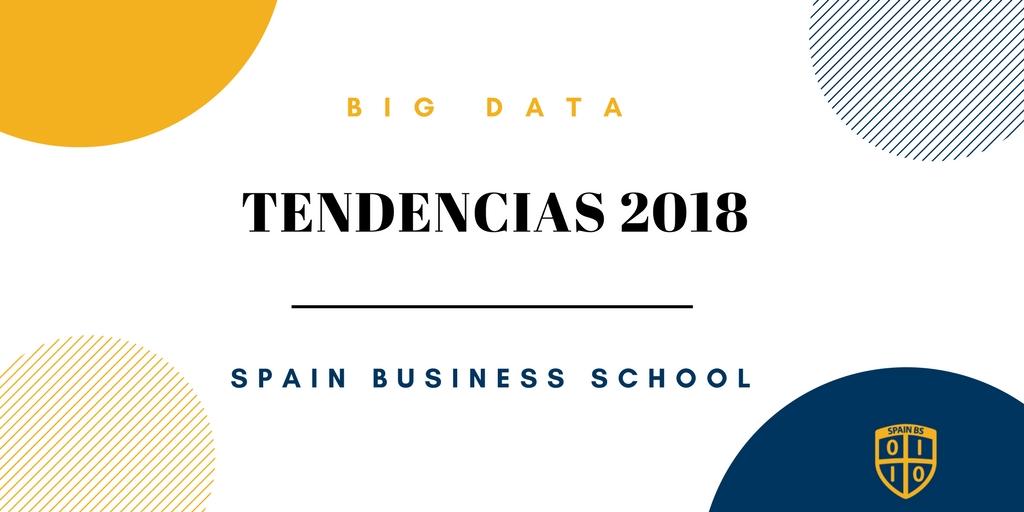 Tendencias del Big Data en 2018