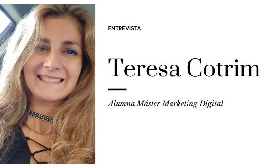 Teresa Cotrim nos cuenta su experiencia de hacer un postgrado en online